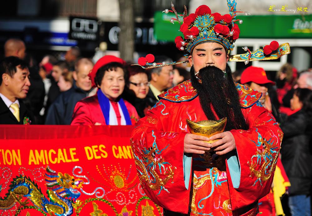 2013年巴黎13区春节彩妆嘉年华