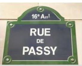 ruedepassy街