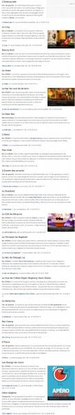 《Figaro》2013年度巴黎最棒的20家酒吧