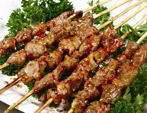 稻香馆羊肉串