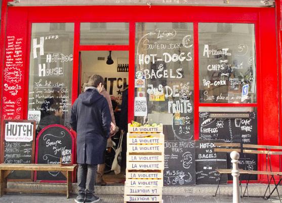 巴黎10区Hutch Hot-Dogs House 热狗