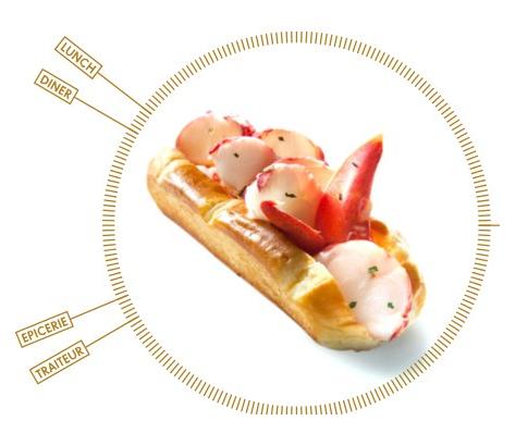 巴黎11去Lobster Bar热狗店