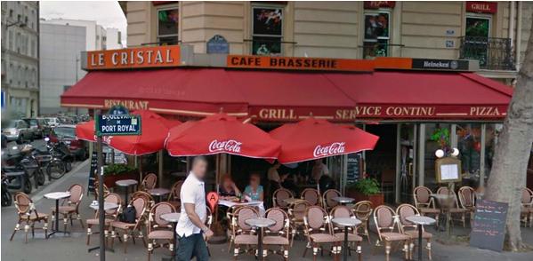 巴黎15区 Le cristal酒吧