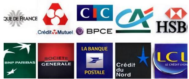 法国银行标志