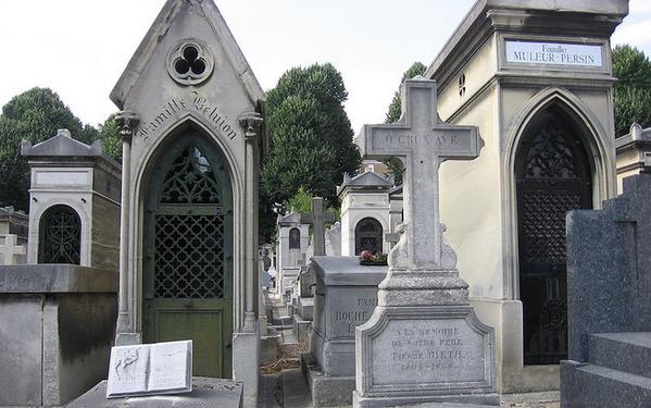 Cimetière Saint Vincent 公墓