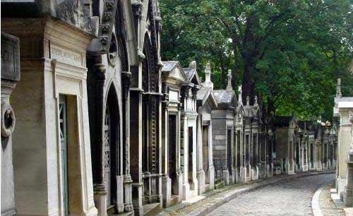巴黎20区 Cimetière du Père-Lachaise 拉雪兹公墓