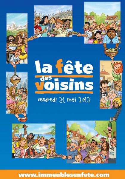 邻居节 La fête des voisins 2013