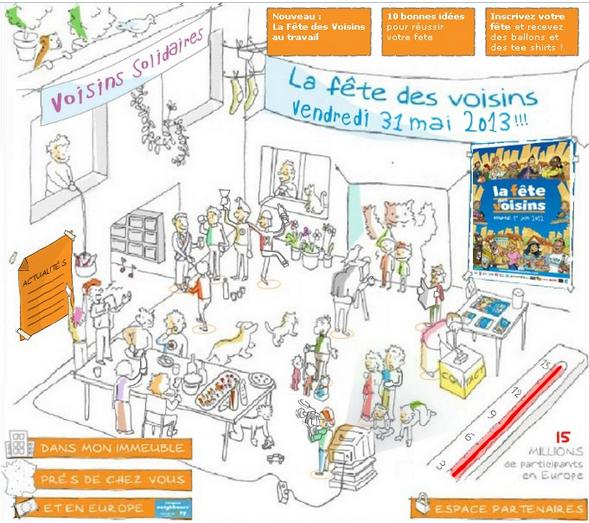 邻居节 La fête des voisins2013