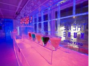 巴黎冷藏的冰酒吧