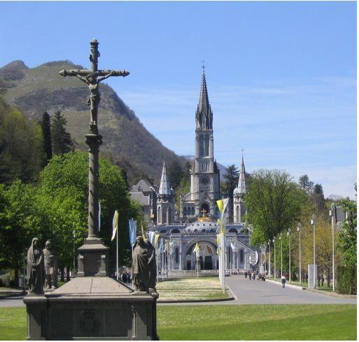 尔德市小镇 Lourdes