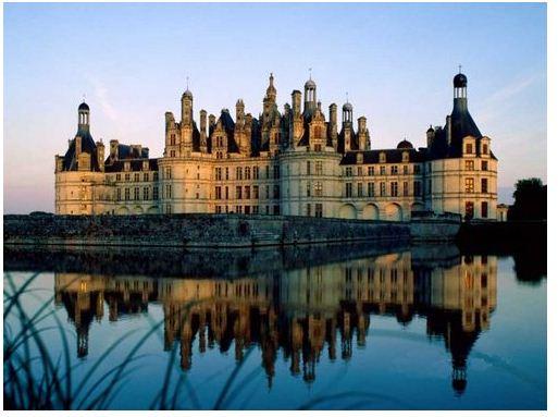 香波堡 chateau Chambord