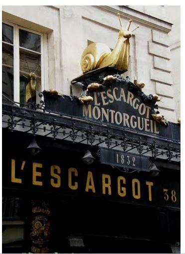 【蜗牛餐厅】L'Escargot Montorgueil