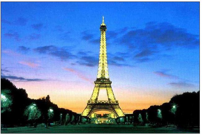巴黎铁塔 la tour eiffel