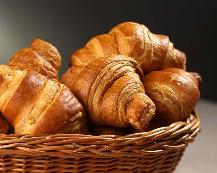 法国牛角面包 croissant